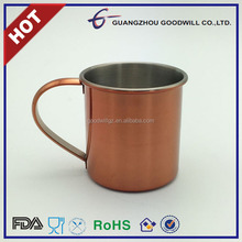 12oz FDA SAFE Stainless steel moscow mule Mugs