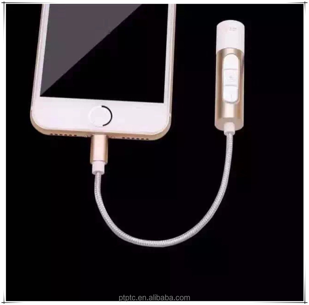 2017 Good price 3.5 mm 2 in 1 Headphone Jack Adapter for iPhone 7 Plus Cable Adapter