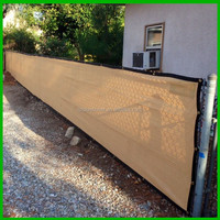 backyard privacy fence windscreen