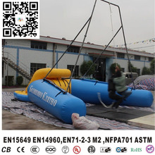 inflatable water swing game ,lake inflatables floating swings,inflation water games crazy water games