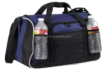2015 Large Zipper Opening Sports Gym Duffel Bag