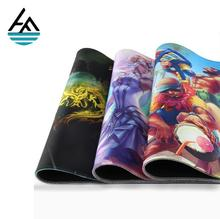 Factory Hot selling best printed neoprene gaming mouse mat