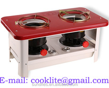 Double Burner Kerosene Stove Kitchen Stove ( 2648 )