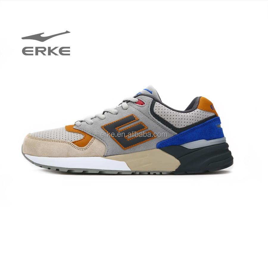 erke new mens running shoes classic sport running shoes