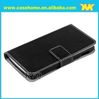 For google nexus 5 genuine leather flip smart case
