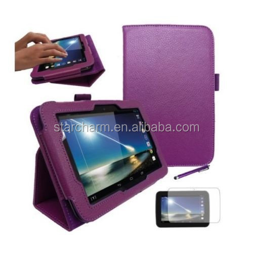 2014 wholesale flip cover PU tablet case,Mini pretty tablet case,China Manufacturer tablet case for hudl 2
