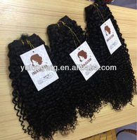 Latest product custom design human hair extension from direct factory water wave