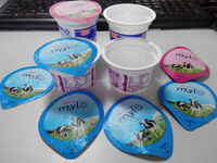 Best price yogurt cup, plastic yogurt cup, yogurt cup with foil lid