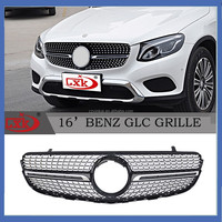 hot sold high quality Auto accessory parts Star-style Front grille for mercedes GLC