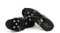 Winter supplies silicone ice cleat crampons for shoes