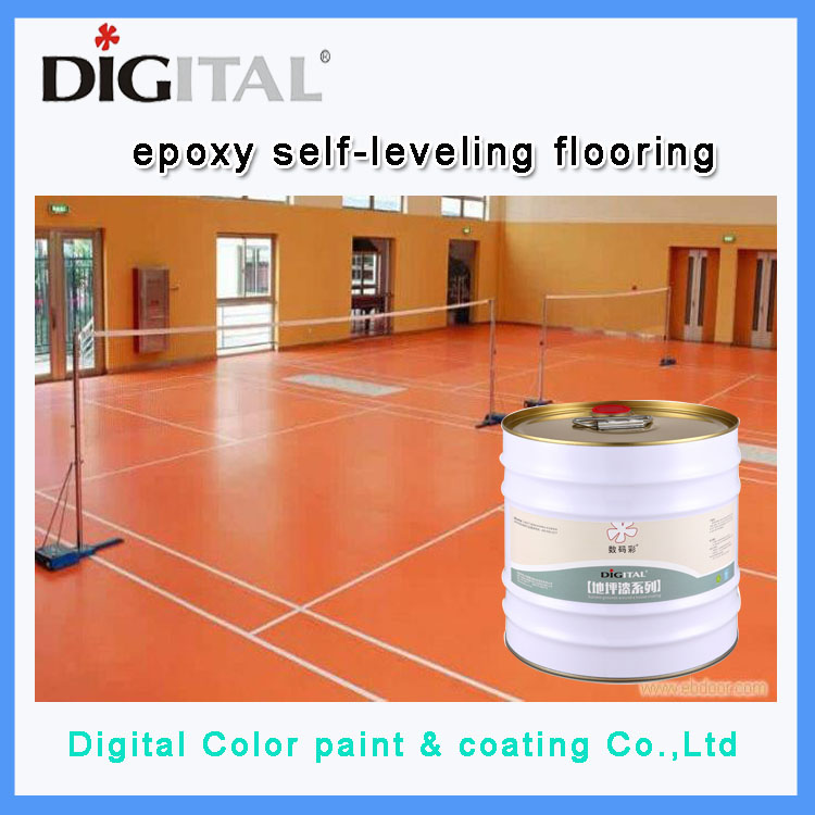 Anti-corrosion varnish covering paint for floor coating epoxy resin