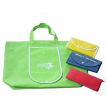 cheap foldable shopping bag with printed custom