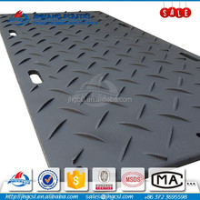 20000mm*1500 20mm thick HDPE ground protection mat,pattern be customized