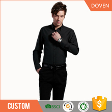 wholesale man clothes long sleeve staff uniform shirts