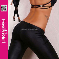 Hot Wholesale faux leather women sexy tight leggings manufacturer