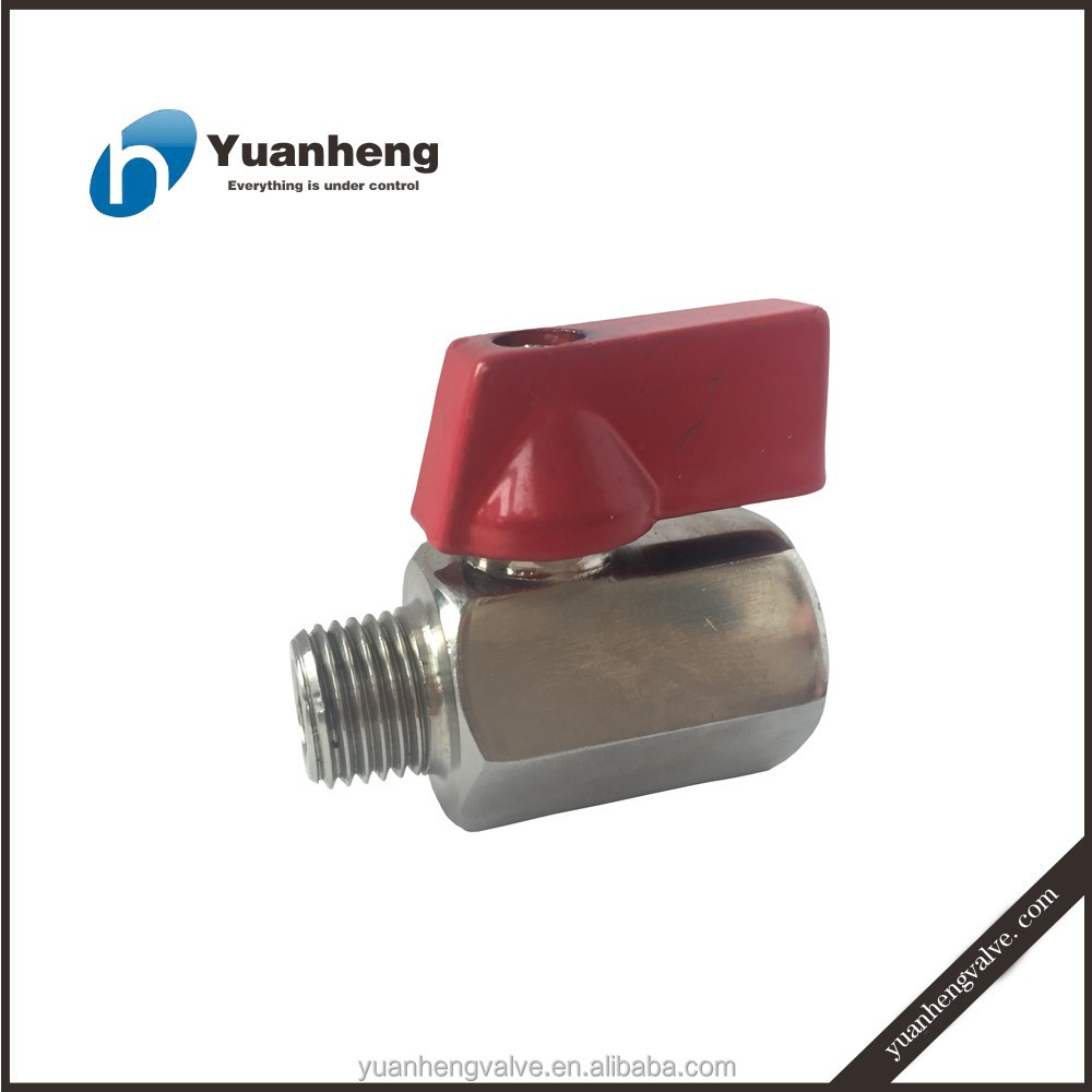 stainless steel mini ball valve for water oil and gas
