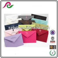 Produce Embossed Colorful Pocket Envelope 5x7