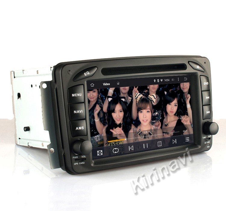 Kirinavi WC-MB7507 Android 7.1 for mercedes vaneo 2002-2005 car dvd gps for mercedes vaneo multimedia navigation system radio