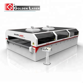 Polyester Filter Fleece Laser Cutting Equipment with Conveyor System