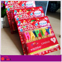 promotion happy birthday number candle alphabet birthday candle