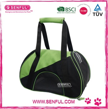 Pet Outdoor Carrier Durable and Breathable Full Zipper Dog Travel Bag