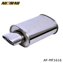 AUTOFAB-car auto stainless steel performance universal Exhaust muffler AF-MF1616
