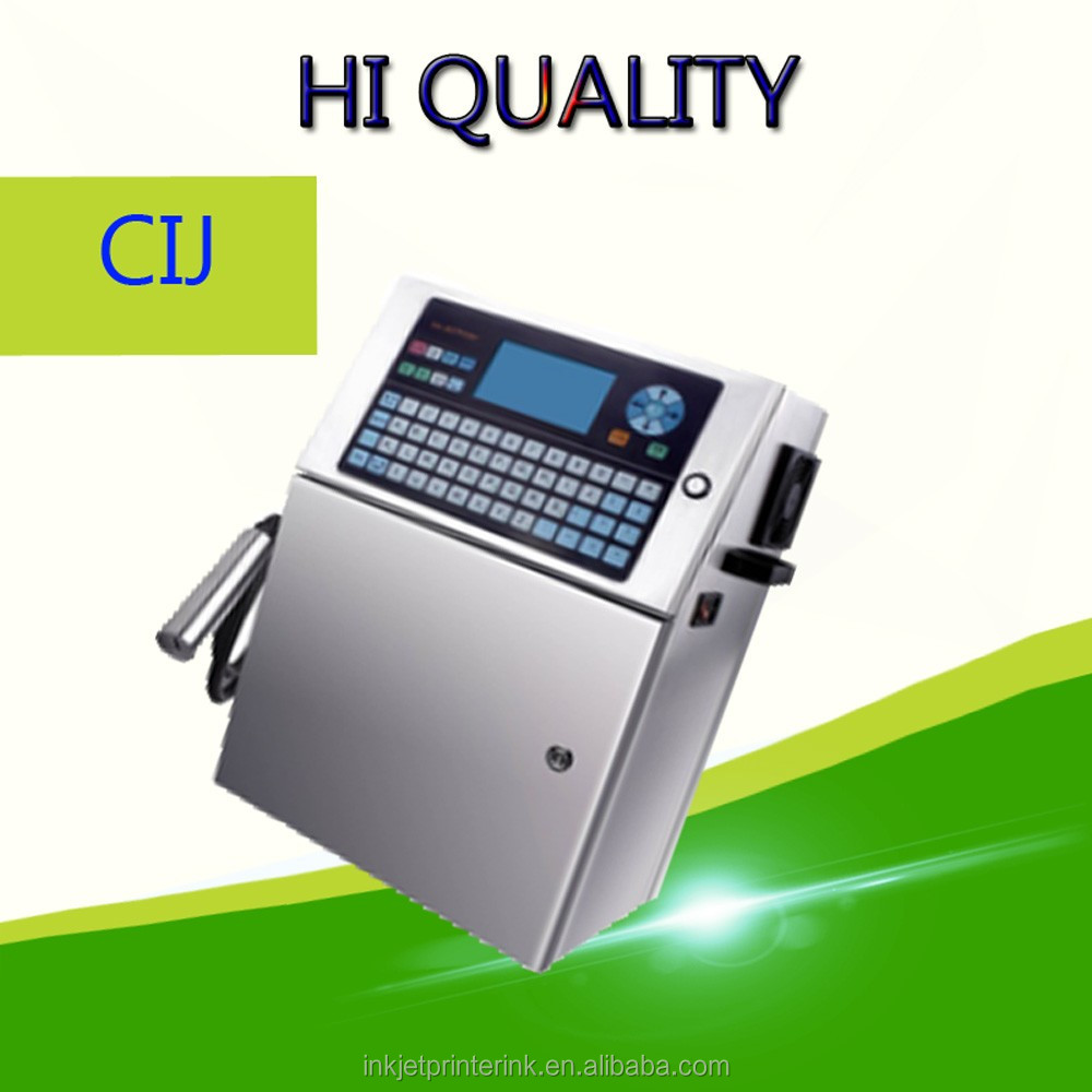 cij ink jet plastic bag packet printer for expiry date,production date,serials,batch number