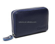 Credit Card Holders Case Organizer PU/ Leather Zip-Around Hand bag