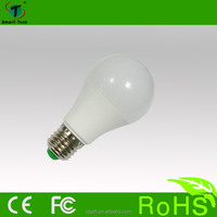 Energy saving E27 3w 5w 7w RGB LED light bulb with IR remote controllier