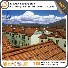 Stone Coated Steel Roofing Tiles --- Roof Tile To French