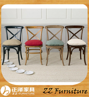 Easy design Cheap Wooden X Chair for Sale