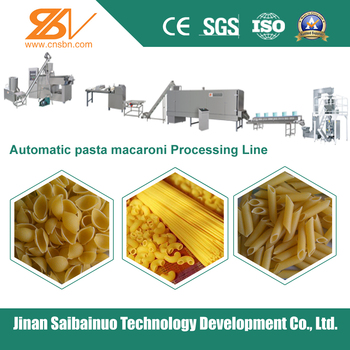 Stainless steel automatic industrial macaroni machine