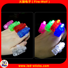 2017 Promotion Cheap Favors White LED Holiday Finger Light Customized Party Finger Light Manufacturer Shenzhen