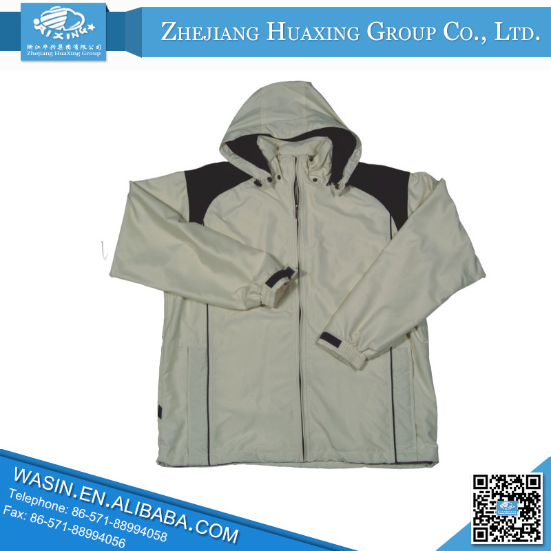 2015 New Design Low Price Waterproof Fashion Jacket Clothes