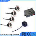 Automatic car parking sensor system with Buzzer alarm 12v dc metal car parking system