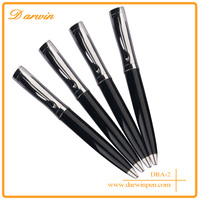 Alibaba pen supplier promotion office material stainless steel metal solar pen