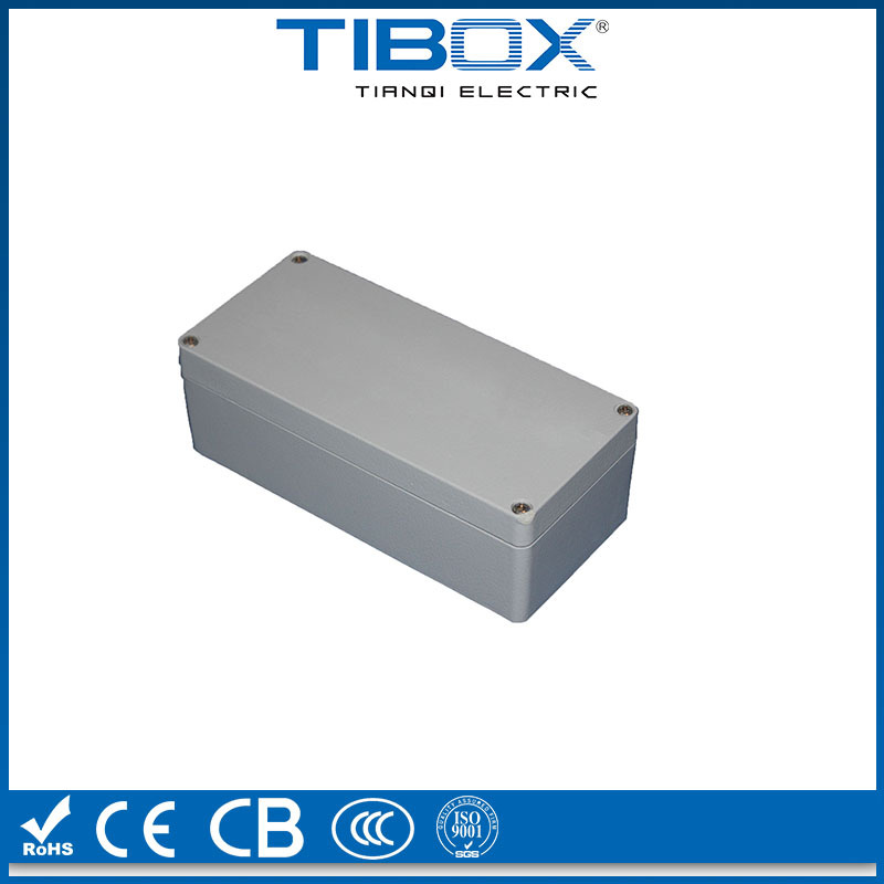 screw fixing Aluminium Waterproof distribution Box