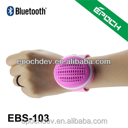wearable bluetooth speaker portable mini speaker,silicone speaker for iphone