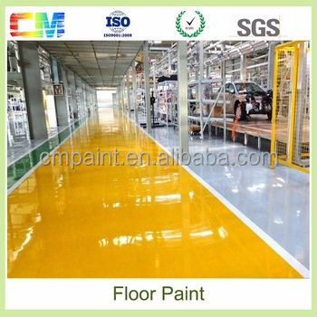 Chemical Resistant Stone Hard Industrial Use Self Leveling Epoxy Flooring