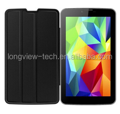 Sumsung style Andriod 7 inch dual core built-in 3g mid with leather cover ,wifi, FM, GPS, BT, 0.3M/2.0 camera MTK6572 CPU