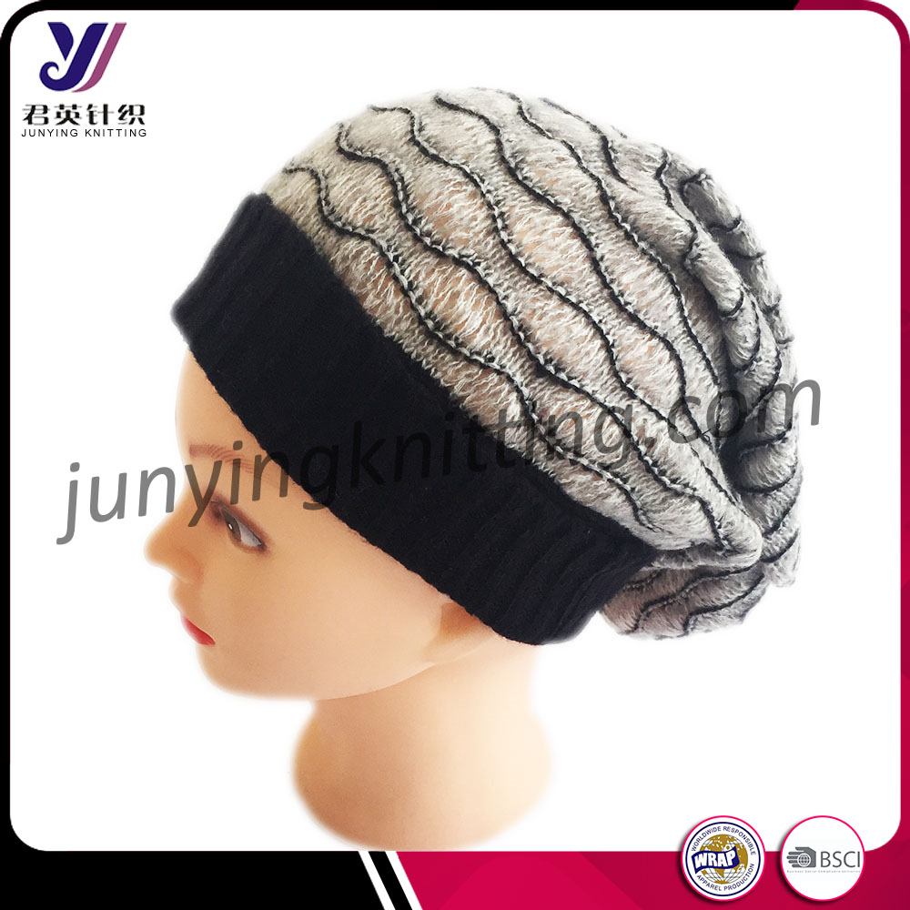 Custom slouchy beanie, Knit Slouchy Beanie Hat, Slouch beanie china manufacturer supply OEM