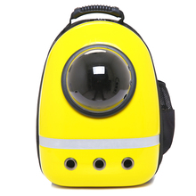 Space capsule shaped pet carrier breathable cat backpack for dog outside Travel portable bag pet products