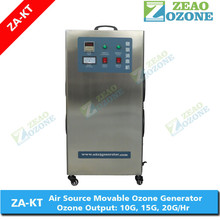 mobile electric ozone generator for cool room 10-20 gram