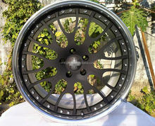 3 piece forged wheel with barrels 18'' 19'' 20''