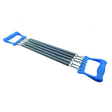 Spring Chest Expander,Multifunctional Chest Expander With 5 Springs,Bodybuilding Exercise Chest Expander