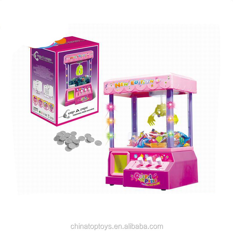 B/O candy grabber machine toy with music Table games
