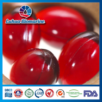 nutrition supplement China manufacturer Luhua OEM antarctic krill oil softgel