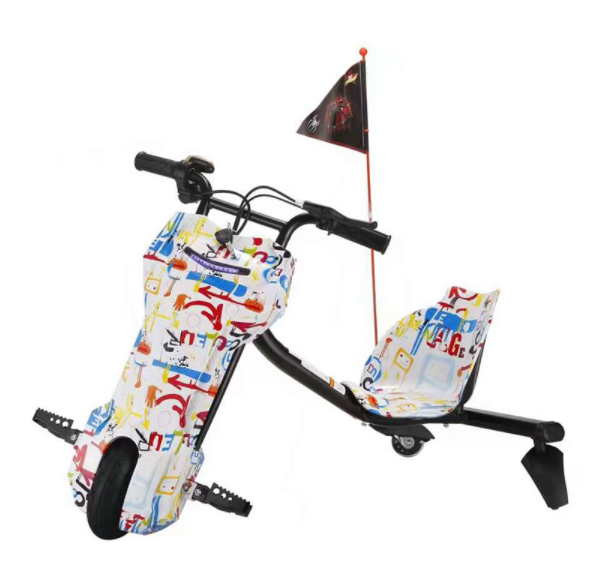 2018 HOT wholesale kids 12V / 24V /36V steel frame drift <strong>trike</strong>