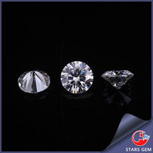 synthetic round brilliant cut D color wholesale moissanite for jewelry set
