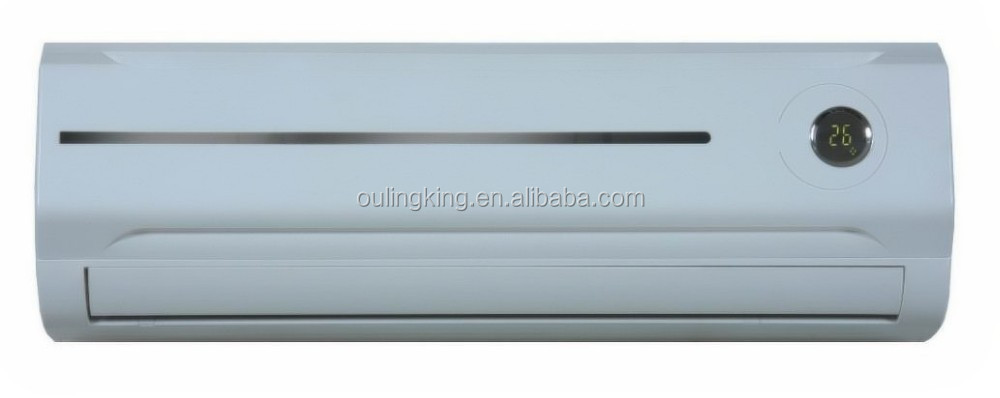 cooling and heating low power consumption 12 volt dc air conditioner